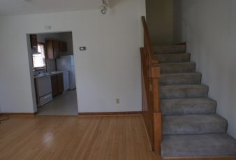 2 Bedroom/1 Bath Town Home Style Apartment